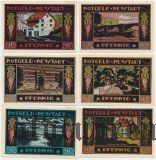 Нойштадт-ам-Рюбенберге (Neustadt am Rübenberge), 6 нотгельдов 1921 года