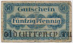 Ганновер (Hannover), 50 пфеннингов 1920 года