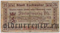 Эшвайлер (Eschweiler), 25 пфеннингов 1918 года