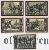Штольпе (Stolp), 5 нотгельдов (1922) года. Вар. 1