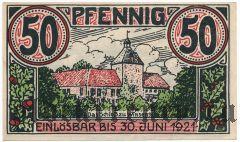 Винзен (Winsen), 50 пфеннингов 1921 года