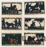 Фехта (Vechta), 6 нотгельдов 1922 года