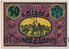 Вайда (Weida), 50 пфеннингов 1921 года