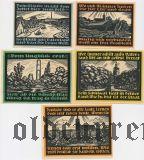 Гентин (Genthin), 5 нотгельдов 1921 года