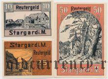 Штаргард (Stargard), 3 нотгельда 1922 года