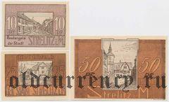 Штрелиц (Strelitz), 3 нотгельда 1922 года