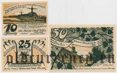 Зюльце (Sülze), 3 нотгельда 1922 года