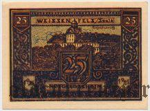 Вайсенфельс (Weissenfels), 25 пфеннингов 1921 года