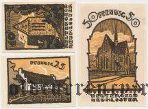 Нойклостер (Neukloster), 3 нотгельда 1922 года
