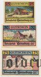 Хорнебург (Horneburg), 3 нотгельда 1921 года