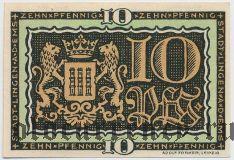 Линген (Lingen), 10 пфеннингов 1921 года