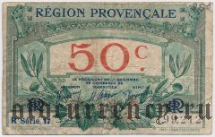 Франция, Marseille, 50 сантимов 1922 года. Серия: 17
