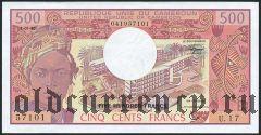 Камерун, 500 франков 1983 года