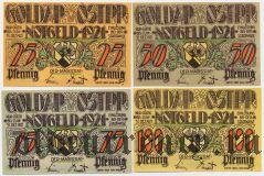 Голдап (Goldap), 4 нотгельда 1921 года