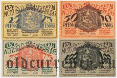 Ангербург (Angerburg), 4 нотгельда 1921 года