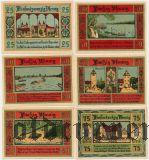 Акен (Aken), 6 нотгельдов 1921 года