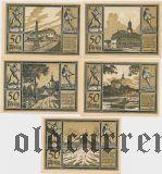 Аума (Auma), 5 нотгельдов 1921 года