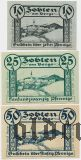 Зобтен ам Берг (Zobten am Berge), 3 нотгельда 1919 года