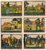 Нойштадт-на-Орле (Neustadt a.d. Orla), 6 нотгельдов 1921 года