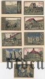 Ашерслебен (Aschersleben), 9 нотгельдов 1921 года
