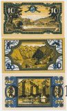 Кёнигсзе (Königssee), 3 нотгельда 1921 года