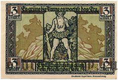 Тале (Thale), 3 марки 1921 года