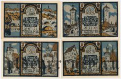 Ротенбург (Rothenburg), 4 нотгельда 1921 года