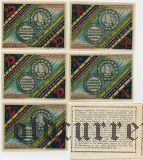 Падерборн (Paderborn), 5 нотгельдов 1921 года. В оригинальном конверте