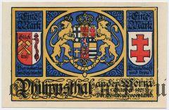 Филипсталь (Philippsthal), 1 марка 1921 года