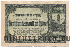 Мюльхайм-на-Руре (Mülheim an der Ruhr), 500.000 марок 1923 года