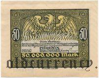 Дюссельдорф (Düsseldorf) Phoenix, 50.000.000 марок 1923 года