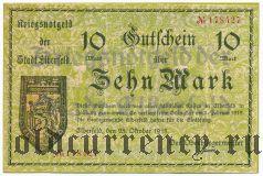 Эльберфельд (Elberfeld), 10 марок 1918 года