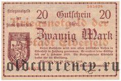 Эльберфельд (Elberfeld), 20 марок 1918 года