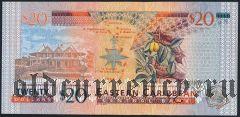 Восточные Карибы, Монтсеррат, 20 долларов (2003) года