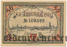 Эммерих (Emmerich), 50 пфеннингов 1920 года