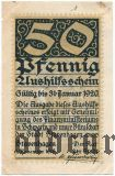 Штавенхаген (Stavenhagen), 50 пфеннингов 1919 года