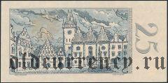 Чехословакия, 25 крон 1958 года