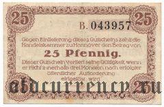 Ганновер (Hannover), 25 пфеннингов 1917 года