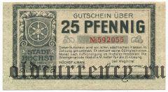 Хёхст (Höchst), 25 пфеннингов 1917 года