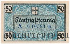 Фрайбург-им-Брайсгау (Freiburg im Breisgau), 50 пфеннингов 1919 года