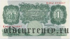 Великобритания, 1 фунт (1948-1960) года