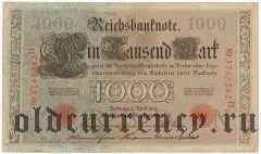 Германия, 1000 марок 1910 года