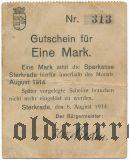 Штеркраде (Sterkrade), 1 марка 1914 года