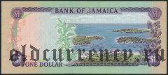 Ямайка, 1 доллар 1960 (1970) года