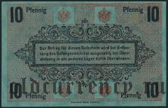 Германия, Chemnitz, 10 пфеннингов