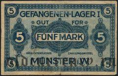 Германия, Münster i.W., 5 марок
