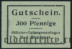 Германия, Bad Blenhorst, 300 пфеннингов