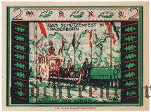 Падерборн (Paderborn), 2 марки 1921 года