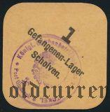 Германия, Scholven, 1 пфеннинг