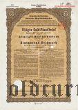 Leipziger Hypothekenbank, Leipzig, 8% iger Gold Pfandbrief, 1000 goldmark 1928
